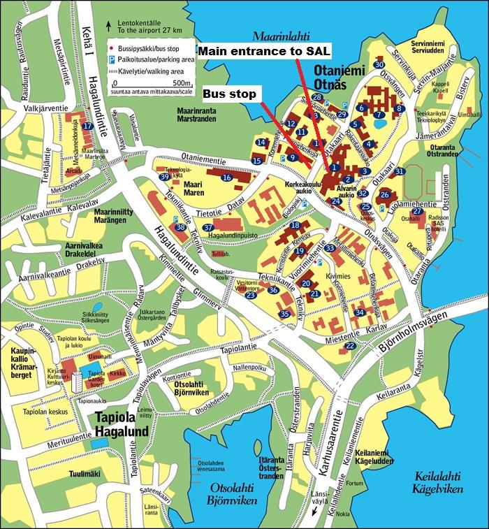 Aalto Otaniemi Campus